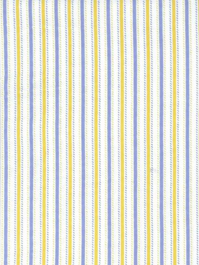 Aunt Polly's: Stripe Blue & Yellow