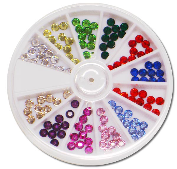 Rainbow 4mm Crystal Compact