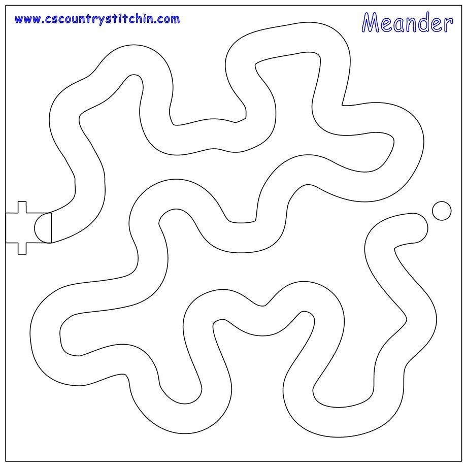 Meander Template