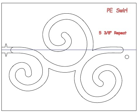 Swirls Template