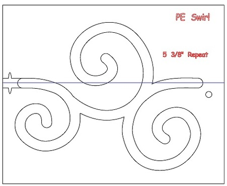 Mini Swirls Template