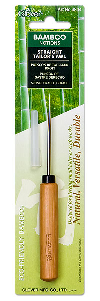 Bamboo Straight Tailor's Awl