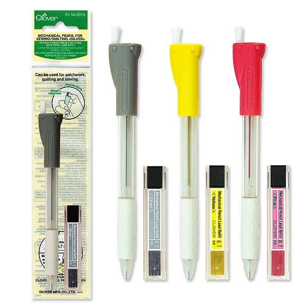 Mechanical Pencil for Sewing/Quilting (Yellow) 0.7mm