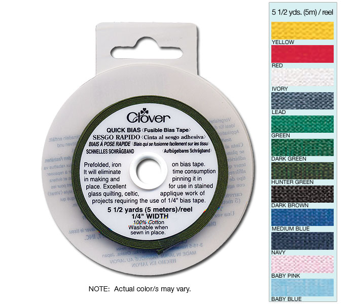 Quick Bias 6mm Tape Medium Blue (5m)