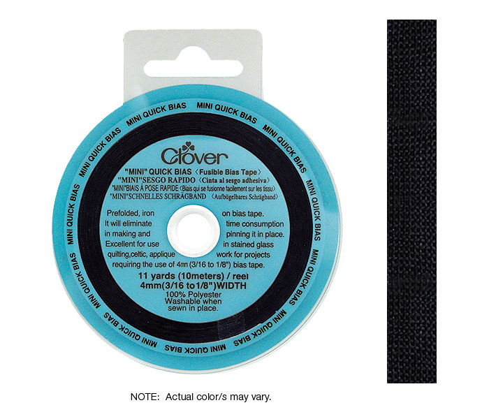 Quick Bias 4mm Tape Black (10m)