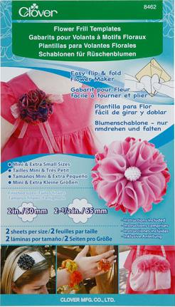 Flower Frill Templates (Mini & Extra-Small)