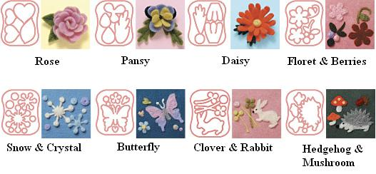 Needle Felting Butterfly Mould