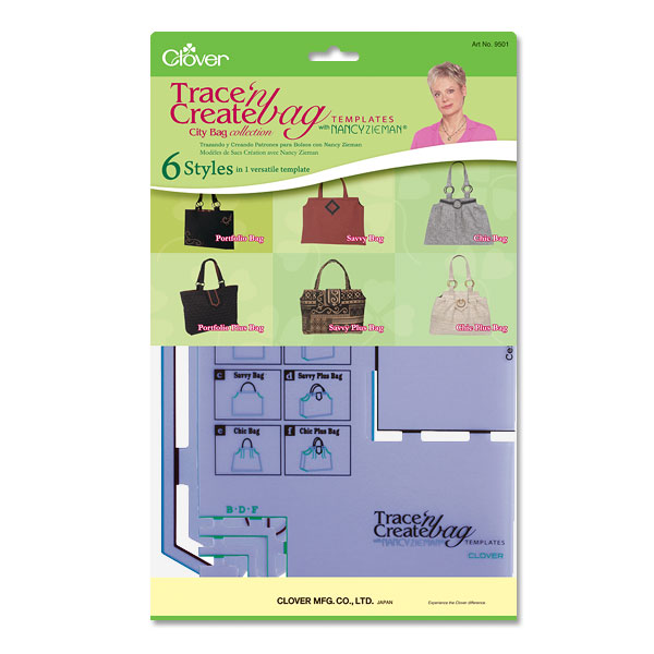 Trace n Create Bag Template (City Bag)