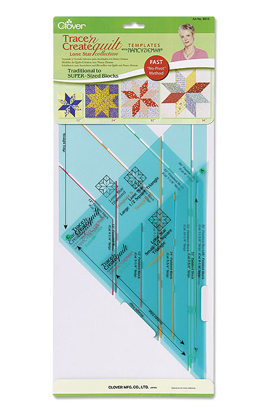 Trace n Create Quilt Template Lone Star