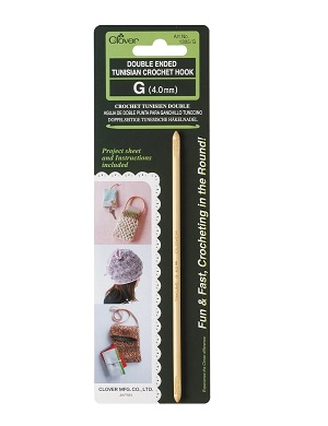 Double Ended Tunisian Crochet Hook G 4.0mm