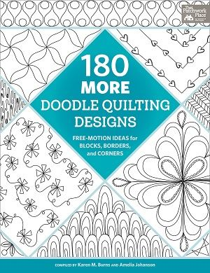 180 More Quilting Doodle Designs